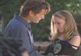 Tracy (Evan Rachel Wood) mit ihrem Vater Travis (D.W. ...