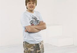 Angus T. Jones in 'Two And A Half Men'