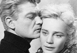 Jean Marais mit Maria Schell, in 'Le notti bianche' (1957)