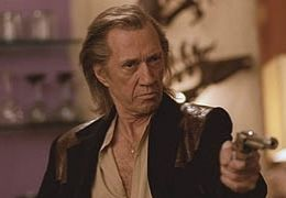 David Carradine in KILL BILL  Buena Vista