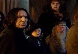 v.l.n.r.: Pedja Bjelac, Alan Rickman, Maggie Smith,...wling.