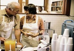 Land of Plenty: Burt Young as Sherman and Michelle...ctures