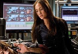Die Hard 4.0 - Maggie Q und Justin Long -