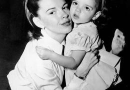 Judy Garland mit Liza Minnelli, 1948