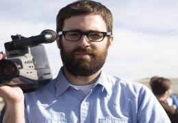 Jared Hess am Set von 'Gentlemen Broncos'