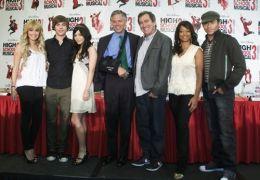 (L-R) Schauspieler Ashley Tisdale, Zac Efron, Vanessa...East