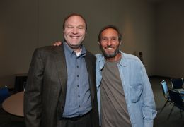 Disney's Jim Gallagher and Producer Steve Starkey at...rnia.