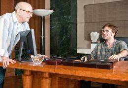 Regisseur Allen Coulter (links) im Gespräch mit...er Me