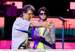 (L-R) Bruce Hendricks, Joe Jonas - Das ultimative 3D...is...