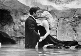 La dolce vita - Marcello Mastroianni und Anita Ekberg