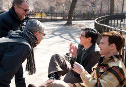 Howl - Setfoto: Rob Epstein und Jeffrey Friedmann mit...tondi