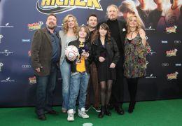 Teufelskicker - v. l. Armin Rohde, Diana Amft, Henry...mming