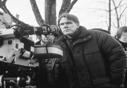 Joe Johnston am Set zu 'Jumanji'