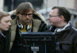 Espen Sandberg und Joachim R nning am Set von 'Max Manus'
