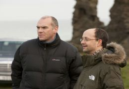 The Guard - Regisseur John Michael McDonagh (links)