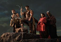 Krieg der Götter - Stavros (Stephen Dorff), Theseus...Bryk)