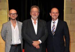 Jeremy Bolt, Martin Moszkowicz und Robert Kulzer -...tiere