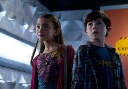 Spy Kids 4D - Cecil (Mason Cook) und Rebecca Wilson...Kids.