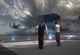 Skyline - Terry (Donald Faison) und Jarrod (Eric...egen.