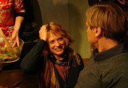 Das Wochenende - Die Regisseurin Nina Grosse am Set...Groth