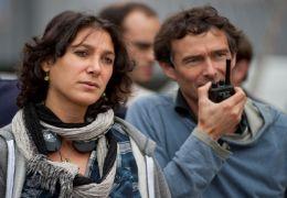 Töte mich - Regisseurin Emily Atef mit Kameramann...Kuthy