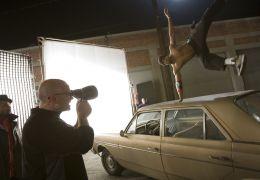 Honey 2 - D.P. DAVID KLEIN captures a dance stunt....left