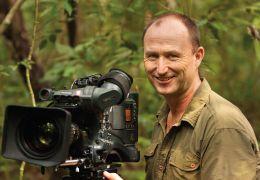 Schimpansen - Chef-Kameramann Martyn Colbeck