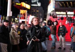 Charlotte Rampling on Times Square