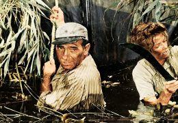 African Queen - Humphrey Bogart und Katherine Hepburn