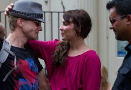 Dead Man Down - Noomi Rapace und Regisseur Niels...m Set