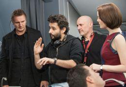 Non Stop - Regisseur Jaume Collet-Serra (mitte, l.)...(l.)