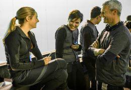 Divergent - Die Bestimmung - Am Set v.l.n.r.:...urger