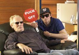 Beware of Mr. Baker - Ginger Baker (l.) und Regisseur...ulger