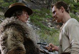 Slow West - Silas (Michael Fassbender) konfrontiert...ohn).