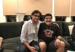 Diego Maradona - Diego Maradona und Asif Kapadia