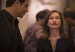 Elle - v.l. Patrick (Laurent Lafitte), Michèle...pert)