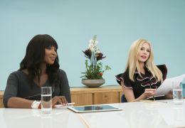 I Feel Pretty - Naomi Campbell (l.) und Michelle...(r.)