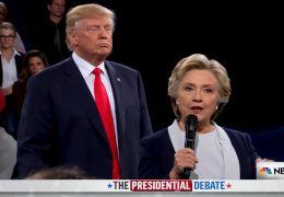 Fahrenheit 11/9 - Donald Trump und Hillary Clinton