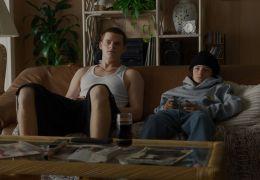 Mid90s - v.l. Ian (Lucas Hedges), Stevie (Sunny Suljic)