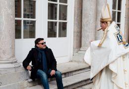 Gelobt sei Gott - Fran ois Ozon (Regie), l.) mit Fran...arin
