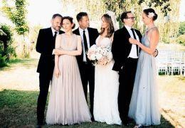 Die Hochzeit - v.l.n.r. : Samuel Finzi (Nils),...nja).