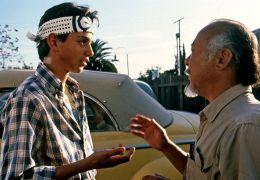 Karate Kid - Ralph Macchio und Pat Morita