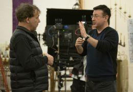 The Unholy - (L nach R) Produzent Sam Raimi und...m Set