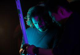 Last Night in Soho - Regisseur Edgar Wright und...m Set
