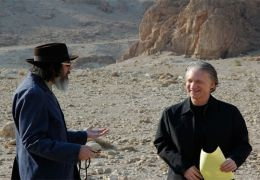 Bill Maher und Larry Charles in 'Religulous'