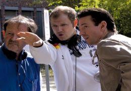 Am Set von Männersache: Regisseur Gernot Roll, Mario...erben
