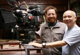 Regisseur Rob Minkoff mit Kameramann Peter Pau
