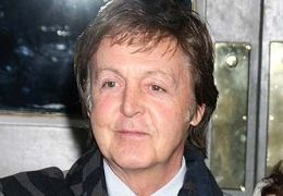 Paul McCartney mit Nancy Shevell