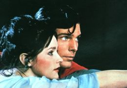 Christopher Reeve und Margot Kidder in 'Superman'