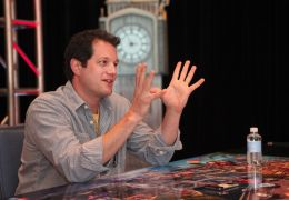 Michael Giacchino at the 'Cars 2' global press junket...alif.